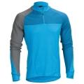 Pánský dres HAIBIKE dlouhý rukáv modrý