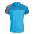 Pánský dres HAIBIKE krátký rukáv modrý