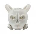 Přední blikačka Skully - bílá