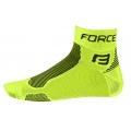 Ponožky FORCE1 fluo-černé