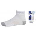 Cyklistické ponožky FORCE2 - bílo-šedé
