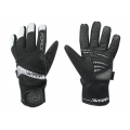 Zimní cyklistické rukavice FORCE WARM černé