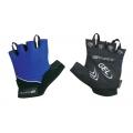 Letní cyklistické rukavice FORCE GEL modré
