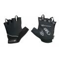 Letní cyklistické rukavice FORCE GEL černé