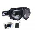 Sjezdové brýle FORCE - černé