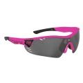 Brýle FORCE RACE PRO růžové, černá laser skla