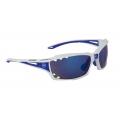 Brýle FORCE VISION bílé + modrá skla