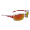 Brýle FORCE VISION bílé + červená skla