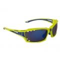 Brýle FORCE VISION fluo + modrá skla