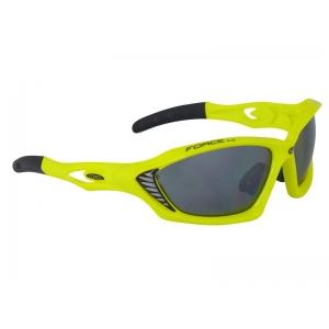 Brýle FORCE MAX fluo + černá skla