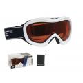 Lyžařské brýle FORCE SKI bílo-oranžové