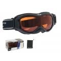 Lyžařské brýle FORCE SNOW černo-oranžové