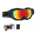 Lyžařské brýle FORCE SNOW černé-multilaser
