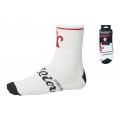 Ponožky WILIER 6cm, bílo-červené