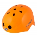 Přilba FORCE BMX, oranžová lesklá